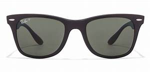 Buy Ray-Ban RB4195 601S9A Size:52 Black Green Wayfarer ...