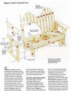 Adirondack Glider Chair Plans Best Home Design 2018