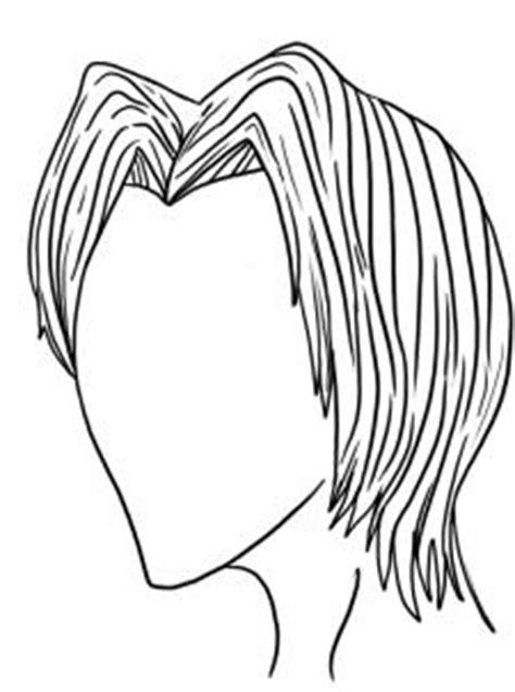 draw male hair styles step  step anime hair anime draw japanese anime draw manga