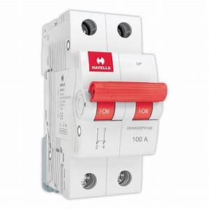 Isolator Dp  100 A   U2013 Durga Electricals