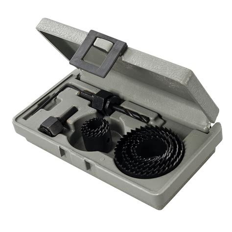 coffret scie cloche coffret de scie cloche 19 224 64 mm silverline 995740 outillage professionnel discount et