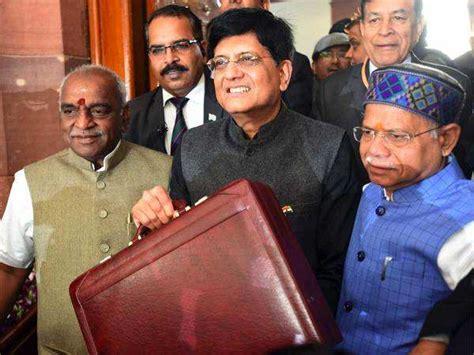 budget  budget  updates piyush goyal  present