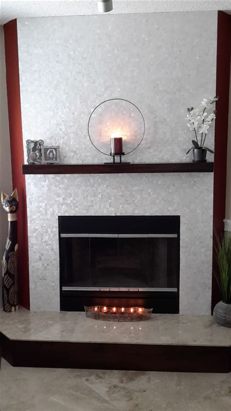 tile  fireplace surround  hearth ideas pictures