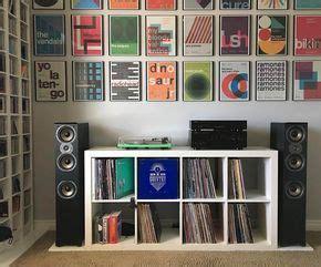 201 pingl 233 par sam paquette sur vinyles en 2019 rangement vinyle meuble vinyle et studio