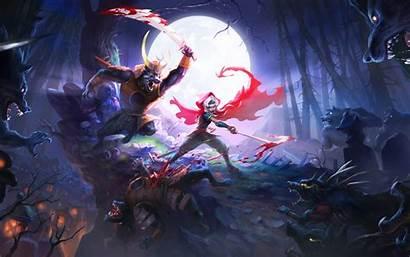 Demon Wallpapers Desktop Backgrounds Akaneiro Hunters Wings