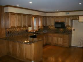 pictures kitchens traditional dark wood golden brown