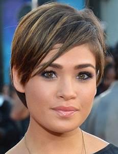 Coupe De Cheveux Mi Court : coiffure visage rond beautiful coupe de cheveux mi court ~ Nature-et-papiers.com Idées de Décoration