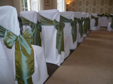 olive green wedding chair covers wedding chair covers