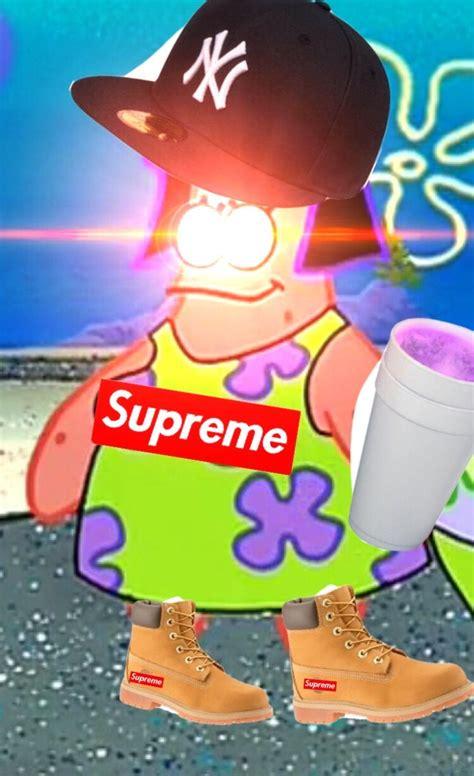 Meme Patrick Pfp Spongebob Supreme Leantimbs Freetoedit