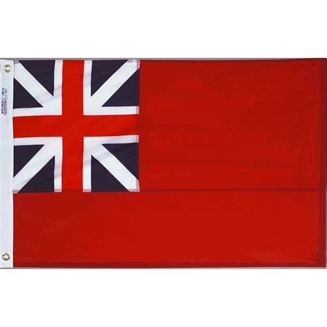 ft   ft nyl glo british red ensign  flag