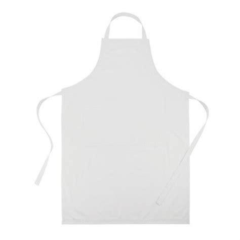 cuisine qualité prix tablier de cuisine publicitaire ajustable blanc