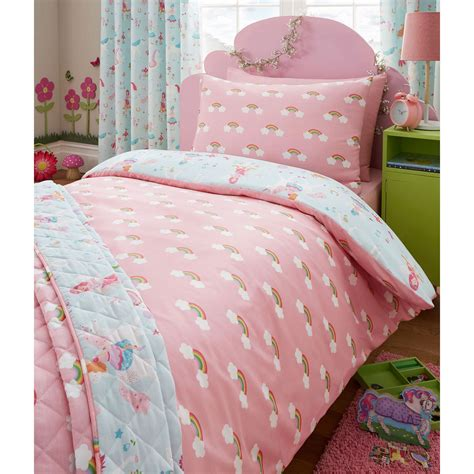 toddler duvet cover magical unicorn junior duvet cover set bedding