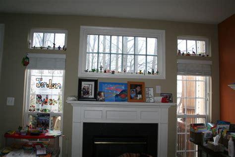 window treatment ideas  cover transom window