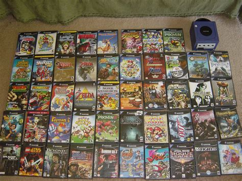 My Gamecube Game Collection Nyenyec Flickr