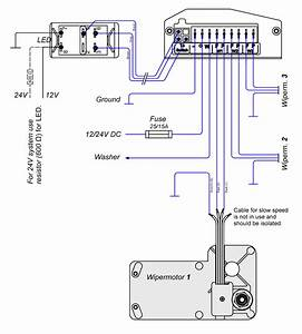 Wiper Wiring Science And Windshield Motor Diagram