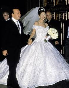 thalia and tommy mottola39s wedding pictures popsugar With thalia wedding dress