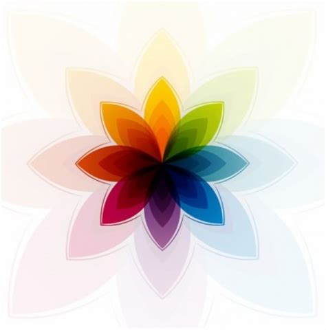 vector colorful abstract graphic flower vector art ai