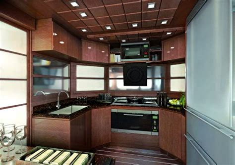 yacht kitchen design architect of small interiors product design yacht design 1201