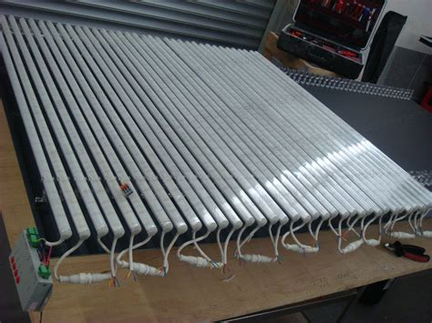 how to build a led display part 2 led rigid bars