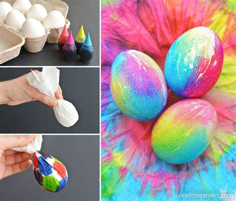 dying easter eggs tie dye easter eggs simple tie dyed easter eggs using paper towel