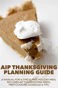 Aip Thanksgiving Planning Guide