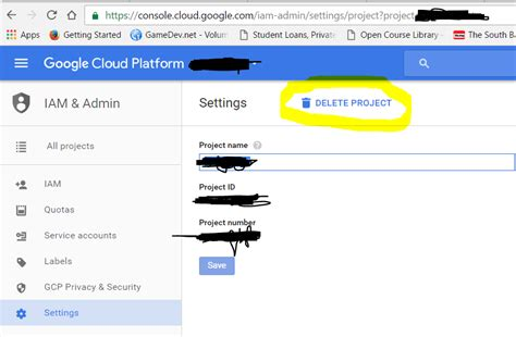 Cloud Api Console by How To Delete A Project From Cloud Console Stack