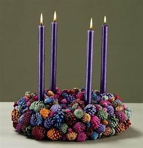Adventskranz 2017 Farben : 106 atemberaubende adventskranz ideen ~ Whattoseeinmadrid.com Haus und Dekorationen
