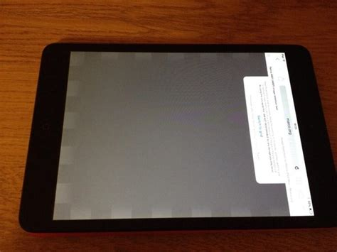 ipad mini   retina display reportedly suffering  screen retention problems image
