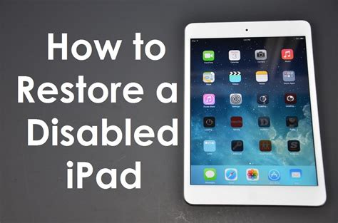 how to refurbish a how to fix forgot passcode disabled iphone ios8
