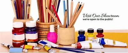 Supplies Showroom Crafts Arts Open Pngio
