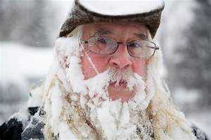 Hirsute advised to take care of the beard in snowy weather ...