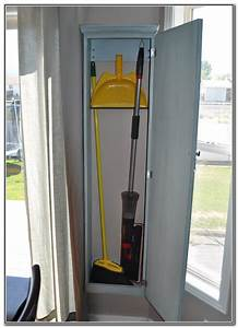 Broom Closets: Tips to Keep Cleaners and Cleaning Supplies