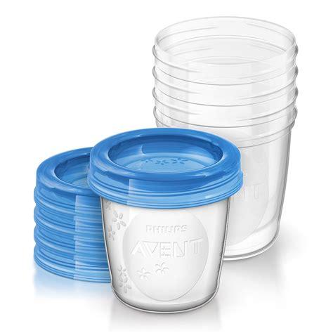 pot de chambre bebe 5 pots de conservation 180ml avec couvercles de philips