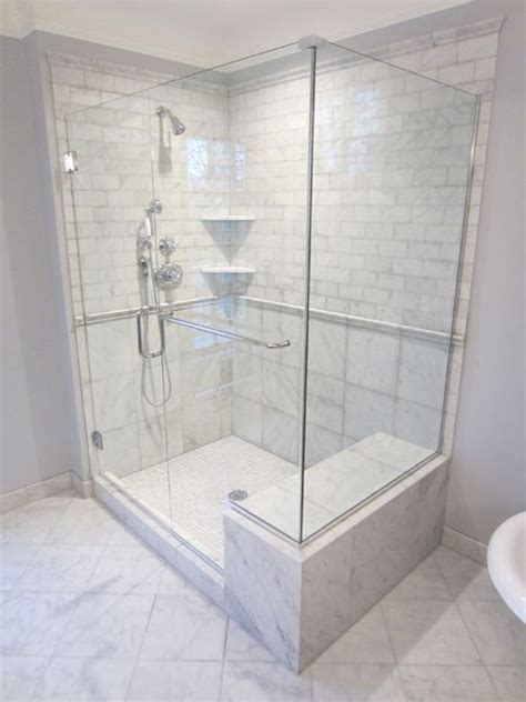 showers  seats  marble tiled shower  seat