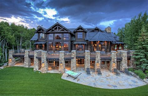 giant colorado ranch  private saloon seeks  million mansion global