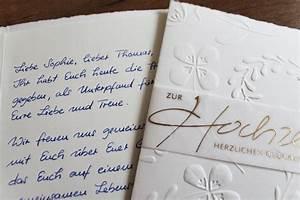 Karte Zur Hochzeit : handgeschriebene karten und briefe gl ckwunschkarte ~ A.2002-acura-tl-radio.info Haus und Dekorationen