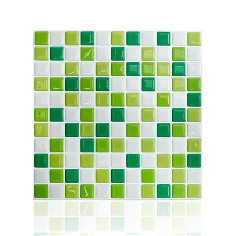 peel and stick kitchen tile 10 quot x 10 quot peel and stick mosaic tile subway tile adhesive