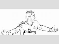 Pinta y colorea a tus ídolos Real Madrid CF