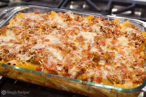 baked ziti baked ziti recipe simplyrecipes com