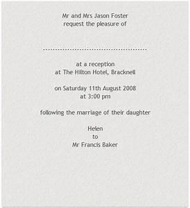17 best images about wedding invitation on pinterest With wedding invitation wording civil ceremony reception same venue