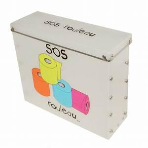Rangement Papier Toilette Original : boite rangement papier anti feu ~ Teatrodelosmanantiales.com Idées de Décoration