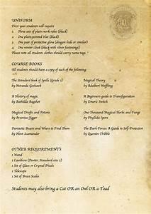 harry potter diy hogwarts acceptance letter requirement With harry potter school acceptance letter