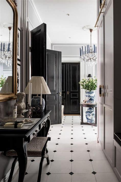 elegance classique en  decoration interieure chalet