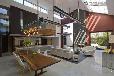 modern house using light to illuminate an industrial modern Industrial