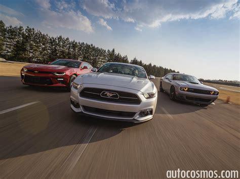 Ford Mustang Vs Chevrolet Camaro Vs Dodge