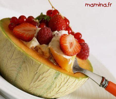melon et sa chantilly r 233 gliss 233 e aux fruits d 233 t 233 dessert simplissime paperblog
