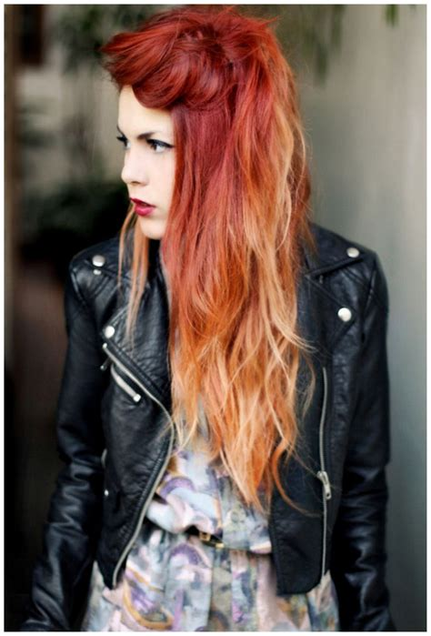 571 Best Fire Red Orange Ombre Hair Images On Pinterest