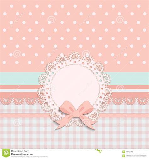christening invitation background girl