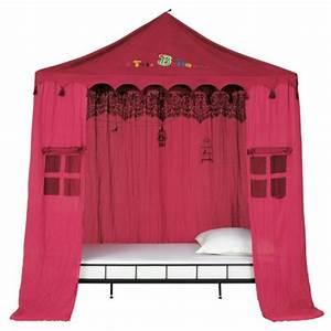 Tente De Lit Pas Cher : chambre fille et lit cabane d corer meubler la chambre d 39 une fille lit enfant fille d corer ~ Farleysfitness.com Idées de Décoration