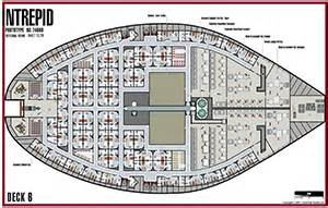 uss voyager deck plans images frompo
